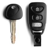 Ключ и Remote автомобиля Стоковое фото RF