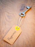 Ключ к счастью Стоковые Фотографии RF