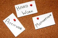 Ключ к успеху! Стоковые Изображения