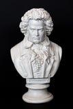 Ключ Людвиг ван Бетховена низкий Стоковые Изображения