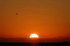 Ключ марафона захода солнца Стоковые Изображения RF