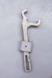 Ключ на стене Стоковая Фотография