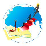 Ключ образования к мечтам Стоковое Изображение