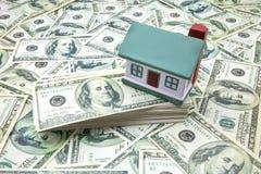 Ключ дома с применением ссуды под недвижимость Стоковая Фотография