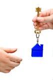 Ключ дома Стоковые Фотографии RF