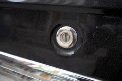 Ключ отверстия автомобиля Стоковое фото RF
