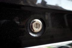 Ключ отверстия автомобиля Стоковое Фото