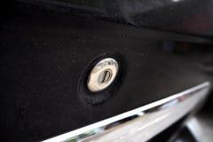 Ключ отверстия автомобиля Стоковые Фото
