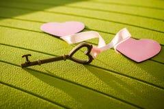 Ключ от моего сердца Стоковые Фото