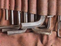 Ключ разводного гаечного ключа Стоковое фото RF