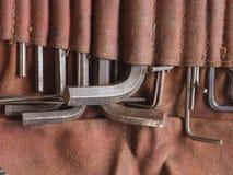 Ключ разводного гаечного ключа Стоковое Изображение RF
