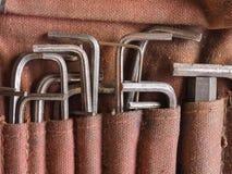 Ключ разводного гаечного ключа Стоковые Фото