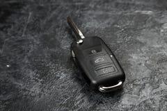 ключ темноты автомобиля предпосылки Стоковые Фото