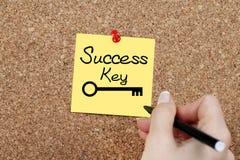 Ключ успеха Стоковые Фото