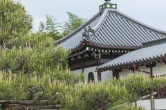 К-ji (восточный висок) буддийский висок секты Shingon внутри Стоковое фото RF