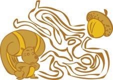 Лабиринт белки Стоковое Изображение RF