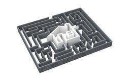 лабиринт дома бесплатная иллюстрация