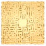 лабиринт золота Стоковое Изображение