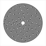 Лабиринт, игра, развлечения иллюстрация вектора