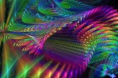 Лабиринт радуги Стоковое Фото