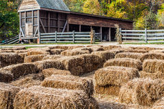 Лабиринт сена на держателе Вернон Стоковая Фотография RF
