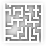 лабиринт Стоковое фото RF