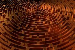Лабиринт Стоковое Изображение RF