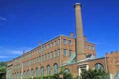 Лаборатории Томас Эдисон на месте Edison национальном историческом в West Orange, NJ стоковые изображения