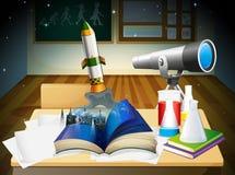 Лаборатория науки Стоковые Изображения RF
