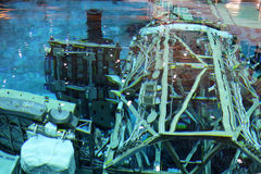Лаборатория нейтральной пловучести - космический центр Джонсона Стоковое Изображение RF