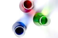 лаборатория стеклоизделия выключателей Стоковое Изображение