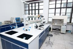 Лаборатория физики стоковые фотографии rf