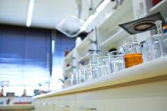 лаборатория химии Стоковое Фото