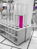 Лаборатория химии Стоковое Изображение