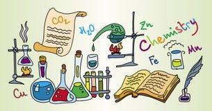 лаборатория химии Стоковое Изображение RF
