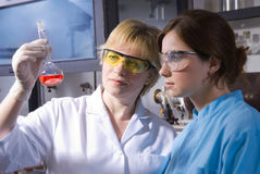 лаборатория Стоковое Изображение RF