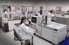 Лаборатория Biotech Стоковые Фото