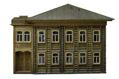 Лабораторная модель 2-storeyed дома журнала Стоковое фото RF