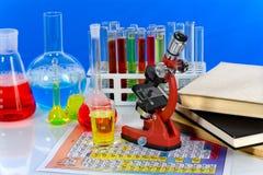 лабораторная посуда Стоковая Фотография RF