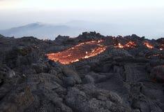 лава Стоковая Фотография RF