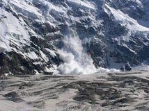лавина Стоковая Фотография