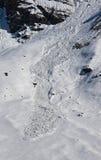 лавина Стоковое фото RF