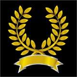лавровый венок золота Стоковая Фотография