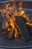 Лагерный костер Стоковое Фото