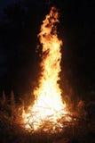 Лагерный костер Стоковое фото RF