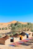 Лагерь в пустыне Стоковая Фотография