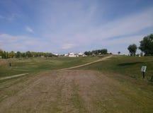 Лагерь гольфа Стоковое Изображение