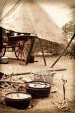Лагерь ковбоя Стоковая Фотография RF