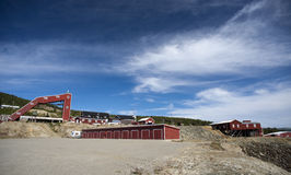 Лагерь медного рудника, Foldall Стоковое Фото
