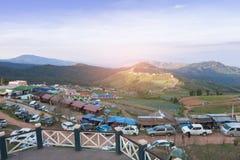 Лагерь на плате Berk Phu стоковое фото